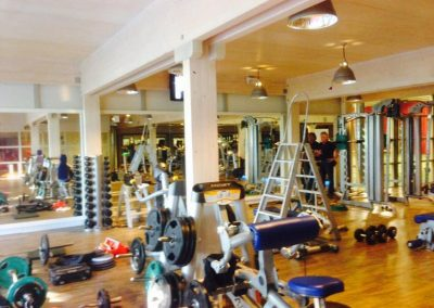 Spiegelwand sportschool