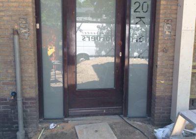 Voordeur met dubbelglas hr++